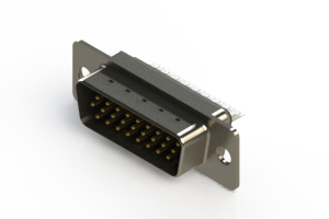 637-026-232-041 - Vertical D-Sub Connector