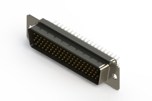 637-078-230-041 - Vertical D-Sub Connector