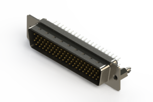 637-078-230-046 - Vertical D-Sub Connector