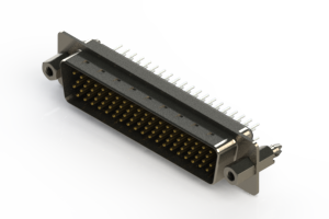 637-078-330-047 - Vertical D-Sub Connector