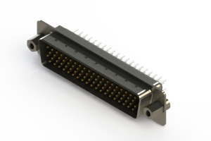 637-078-630-043 - Vertical D-Sub Connector