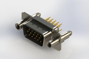 637-M15-630-BN6 - Machined D-Sub Connectors