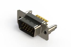 637-M15-632-BN5 - Machined D-Sub Connectors