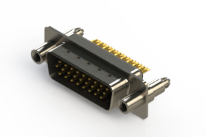 637-M26-232-BN6 - Machined D-Sub Connectors