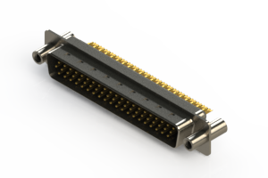 637-M62-332-BN4 - Machined D-Sub Connectors