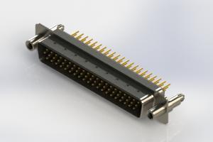 637-M62-630-BN6 - Machined D-Sub Connectors