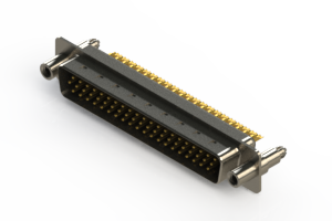 637-M62-632-BN6 - Machined D-Sub Connectors