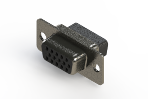 638-015-010-241 - Vertical High Density D-Sub Connector