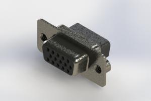 638-015-010-242 - Vertical High Density D-Sub Connector