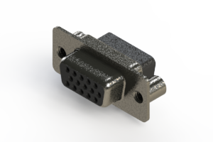 638-015-010-249 - Vertical High Density D-Sub Connector