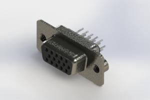 638-015-230-062 - Vertical High Density D-Sub Connector
