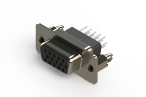 638-015-231-056 - Vertical D-Sub Connector