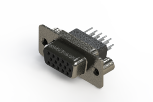 638-015-231-279 - Vertical High Density D-Sub Connector