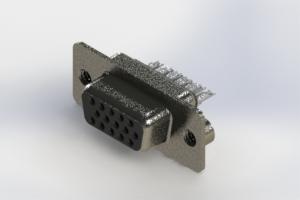 638-015-232-042 - Vertical High Density D-Sub Connector