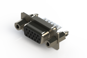 638-015-232-047 - Vertical D-Sub Connector