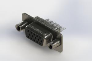 638-015-232-048 - Vertical High Density D-Sub Connector