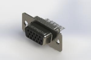 638-015-232-061 - Vertical High Density D-Sub Connector