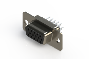638-015-330-041 - Vertical D-Sub Connector