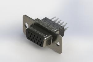 638-015-331-051 - Vertical High Density D-Sub Connector
