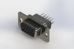 638-015-331-071 - Vertical High Density D-Sub Connector