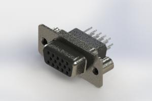 638-015-331-079 - Vertical High Density D-Sub Connector