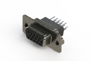 638-015-331-252 - Vertical High Density D-Sub Connector