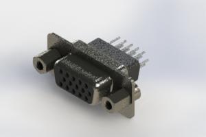 638-015-331-273 - Vertical High Density D-Sub Connector
