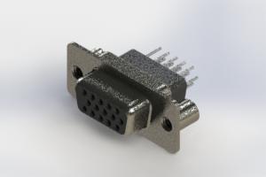 638-015-331-279 - Vertical High Density D-Sub Connector