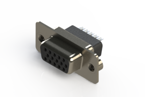 638-015-332-052 - Vertical D-Sub Connector