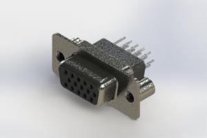 638-015-631-259 - Vertical High Density D-Sub Connector