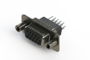 638-015-631-278 - Vertical High Density D-Sub Connector