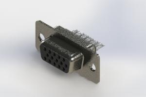 638-015-632-041 - Vertical High Density D-Sub Connector