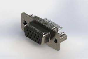 638-015-632-249 - Vertical High Density D-Sub Connector