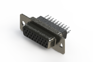 638-026-231-051 - Vertical High Density D-Sub Connector