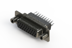 638-026-231-058 - Vertical High Density D-Sub Connector