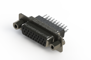 638-026-231-253 - Vertical High Density D-Sub Connector