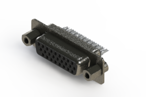 638-026-232-043 - Vertical High Density D-Sub Connector