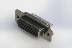 638-026-232-262 - Vertical High Density D-Sub Connector