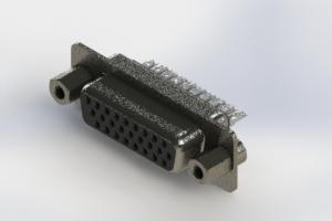 638-026-232-263 - Vertical High Density D-Sub Connector