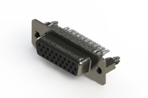 638-026-232-266 - Vertical High Density D-Sub Connector