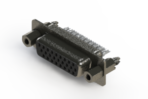 638-026-232-267 - Vertical High Density D-Sub Connector