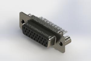 638-026-232-269 - Vertical High Density D-Sub Connector