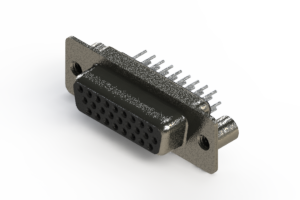 638-026-330-269 - Vertical High Density D-Sub Connector