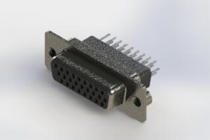 638-026-331-052 - Vertical High Density D-Sub Connector