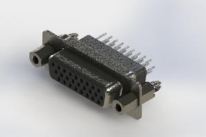 638-026-331-057 - Vertical High Density D-Sub Connector