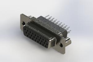 638-026-331-059 - Vertical High Density D-Sub Connector