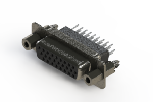638-026-331-077 - Vertical High Density D-Sub Connector