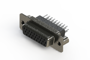 638-026-331-079 - Vertical High Density D-Sub Connector