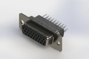 638-026-331-251 - Vertical High Density D-Sub Connector
