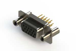 638-M15-330-BT4 - Machined D-Sub Connectors